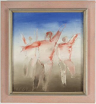 ALF OLSSON, oil on canvas, signed and dated 69.