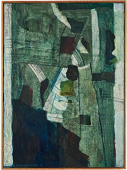 ANDERS ÖSTERLIN, oil on canvas, signed and dated 1960.