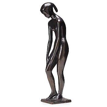GUNNAR NILSSON, bronze sculpture, signed G. Nilsson, numbered 7/10.