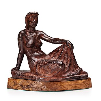 DAVID WRETLING, bronze sculpture, signed David Wretling, numbered 1/10.
