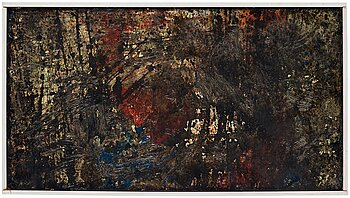 INGER EKDAHL, oil on panel, signed and dated 1961 on verso.