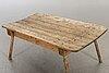 A 20th century slaughter table / garden table.