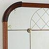 Spegel, ab glas och trä, hovmantorp, 1961.