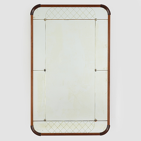 A mirror from glas & trä, dated 1961.
