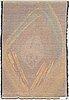 Oili mÄki, a finnish long pile rug. circa 168x115 cm.