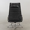 """Charles and ray eames, an """"ea-124, aluminium group"""", herman miller lounge chair. usa."""
