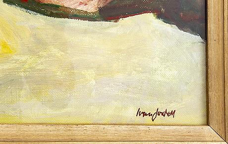 Ivan jordell, a signed oil on board.