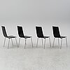 Mattias ljunggren, four 'cobra' chairs, källemo.