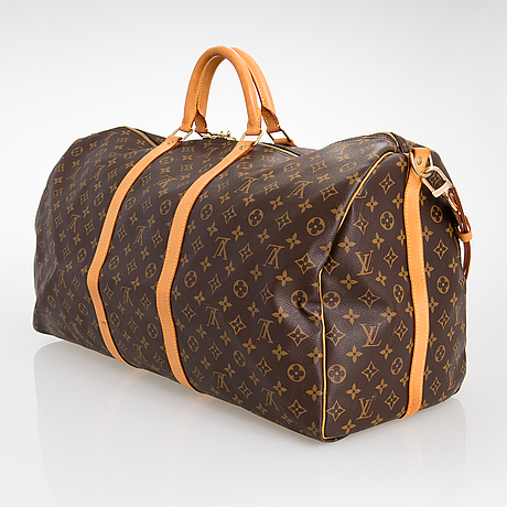 Louis vuitton, a keepall 60 bandoulière bag.