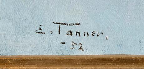Eino tanner, olja på duk, signerad och daterad -52.