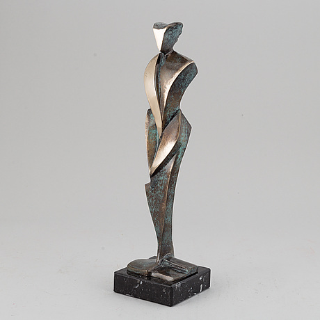 Stan wys, sculpture, signed, dated 2019 and numbered 2/8.