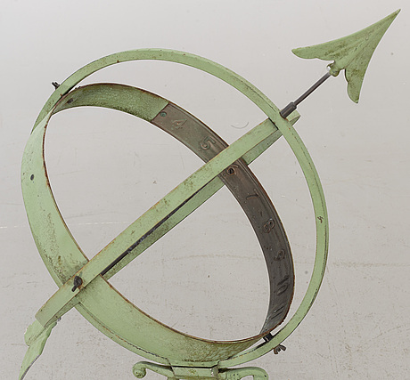 A first half  of20th century sundial.