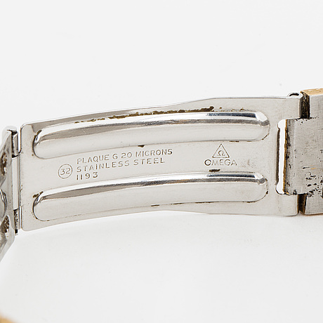 Omega, wristwatch, 34.5 mm.