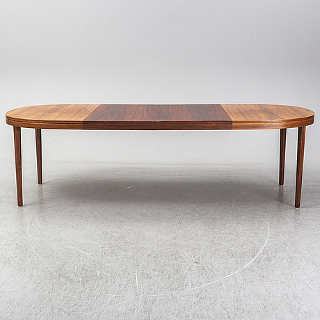 A five-piece rosewood dining suite, 1960's/70's.