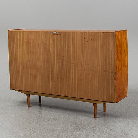 A danish teak veneered cabinet, 1960's.