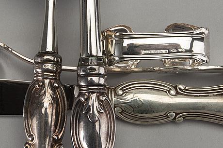 "Bestick 69 dlr ""olga"" silver 1900-talets senare del."