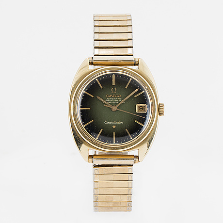 Omega, constellation, wristwatch 36 (40) mm.
