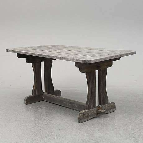 David rosÉn, a 'berga' pine table, nordiska kompaniet.