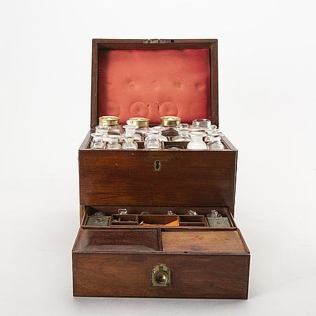A 1902 scottish pharmacy casket.