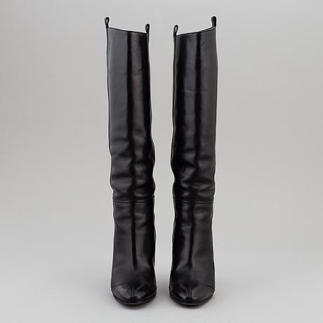 Chanel, stövlar, ett par, storlek 35,5.