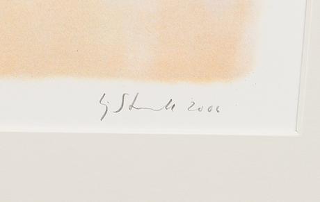 Kaj stenvall, litografia, signeerattu ja päivätty 2006, merkitty tait. vedos.