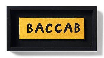 "8. Maria Lindberg, ""Baccab""."