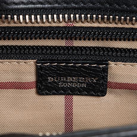 Burberry, handbag.
