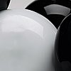 "Matti klenell, a glass installation ""carambole"", ajeto glassworks, czech republic 2008."