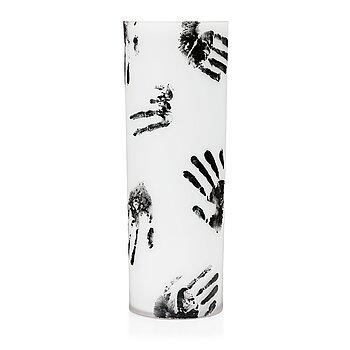16. Per B. Sundberg, a glass vase, Orrefors, Sweden 2003.
