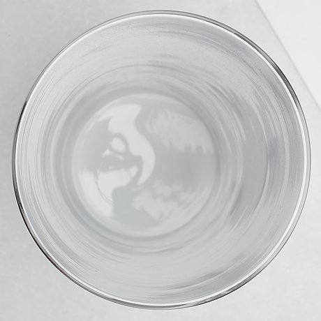 Per b. sundberg, a glass vase, orrefors, sweden 2003.