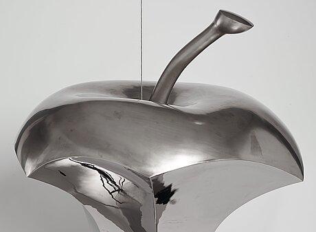 """Bigert & bergström (mats bigert, lars bergström), """"falling apple""""."""