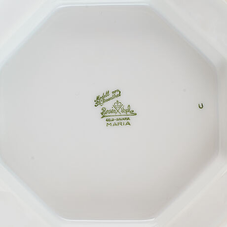 A rosenthal, maria björnbär dinner service, 20th century. (73 pieces).