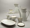 Mat- och kaffeservis, porslin, 94 delar, rosenthal, 1900-talets mitt.