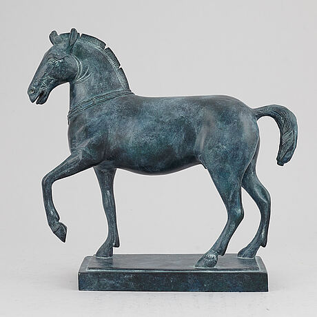 A bronze sculpture, ffa fondeur, late 20th century.