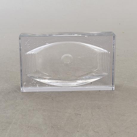 Kjell engman, handfat, glas, kosta, formgivet för kosta boda art hotel.