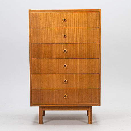 Olof ottelin, a 1960s drawer of the 'beta' series, oy stockmann ab, keravan puusepäntehdas, finland.