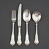 A 150-piece silver flatware service, norway, 20th century.