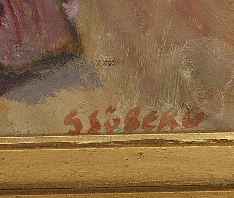 Bertil sjÖberg, a signed oil on canvas.