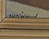 Richard bjÖrklund, olja på pannå, signerad.