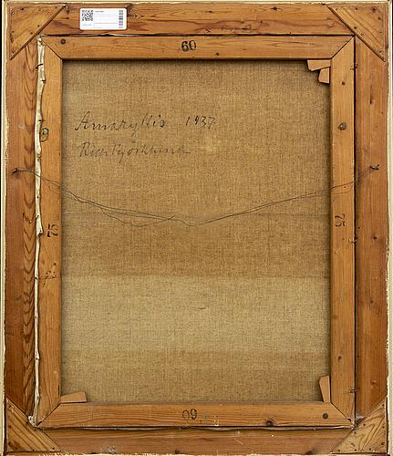 Richard bjÖrklund, olja på duk, signerad och daterad -37.