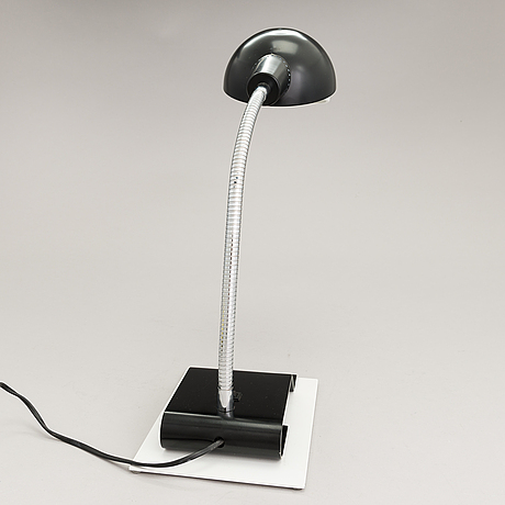 Alvar aalto, a late 20th century 'a703' table light for artek.