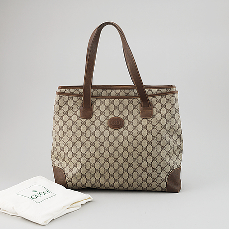 "Gucci, väska, ""shopper""."