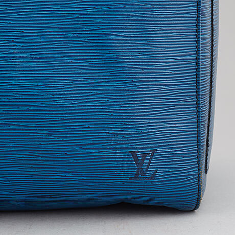 Louis vuitton, a 'keepall 55 epi' weekendbag.
