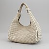 Bottega veneta, a leather bag.