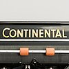 Kirjoituskone, continental ja laskukone, burroughs, 1900-luvun alkupuoli.