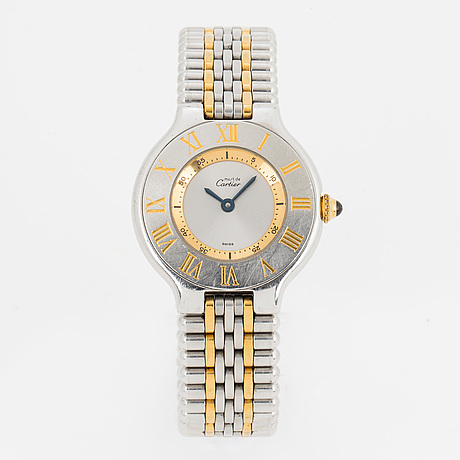 Must de cartier, must 21, wristwatch, 28 mm.