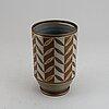 """Gunnar nylund & oskar dahl, a """"flambé"""" stoneware vase, rörstrand 1930-40's."""