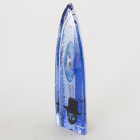 An glass sculpture by bertil vallien.