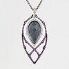 """A stephen webster """"crystal haze"""" necklace."""