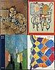 Tidskrifter / bÖcker, derriere le miroir, 13 vol samt xxe siècle, 4 st.